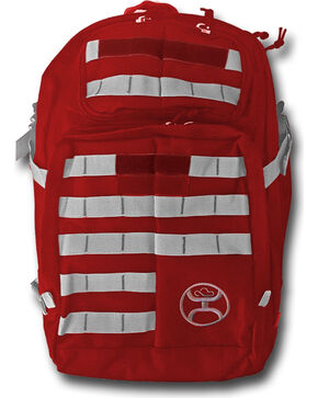 Hooey Carrier Mult-Purpose Tactical Adventure Backpack , Red, hi-res