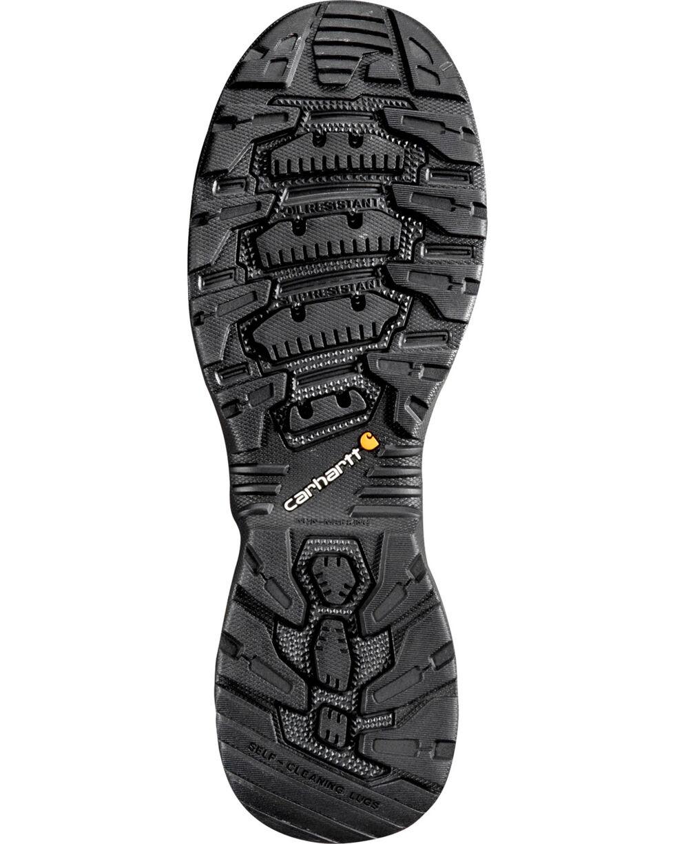 "Carhartt Force Men's 4"" Black Waterproof Work Shoes - Comp Toe, Black, hi-res"
