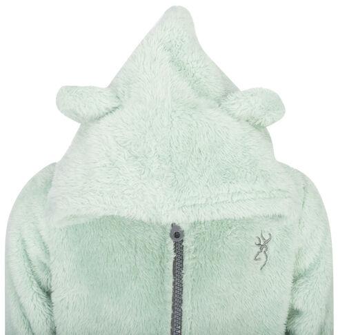 Browning Toddler Girls' Green Teddy Bear Jacket , Green, hi-res