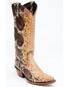 Idyllwind Women's Sensation Western Boots - Snip Toe, Brown, hi-res