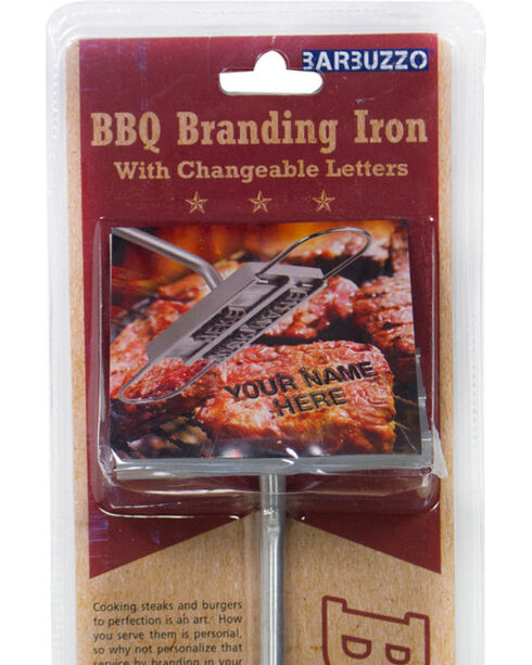 Urban Trends BBQ Changeable Letters Branding Iron , No Color, hi-res
