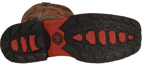 Justin Hybred Work Boots - Square Toe, Tan, hi-res