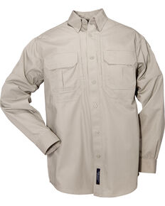 5.11 Tactical Long Sleeve Cotton Shirt, Sage, hi-res
