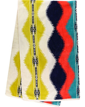 Pendleton Saguaro Beach Towel, Green, hi-res