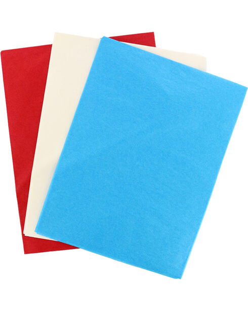 BB Ranch Solid Color Gift Wrap Tissue Paper, Turquoise, hi-res