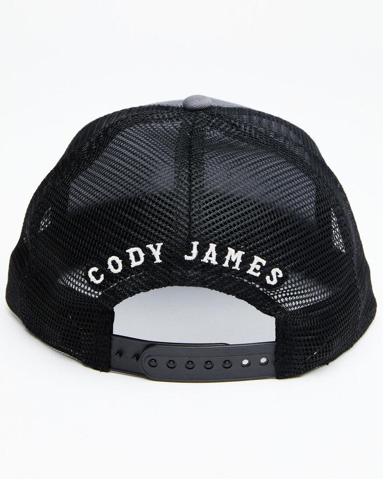 Cody James Men's Don't Tread On Me Mesh Cap , Grey, hi-res