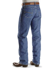 "Wrangler 20X Jeans - No. 23 Relaxed Fit - 38"" Tall Inseam, Vintage Blue, hi-res"