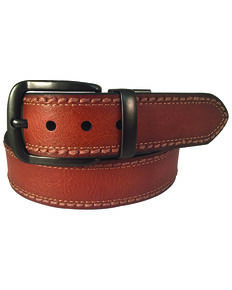 Berne Men's 38MM Reversible Leather Belt, Black/tan, hi-res