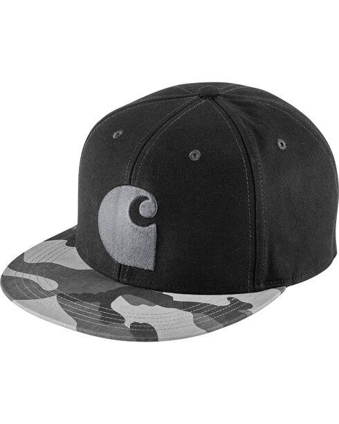 Carhartt Men's Brooker Grey Camo Cap, Grey, hi-res
