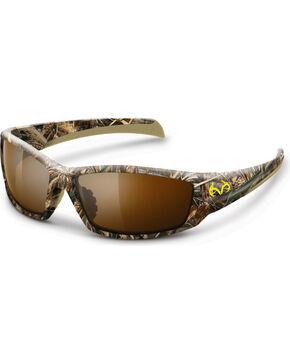 Realtree Men's Max-5 Camouflage Trapline Sunglasses, Camouflage, hi-res