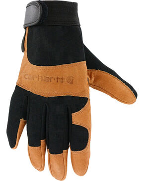 Carhartt Men's The Dex II High-Dexterity Work Gloves, Black, hi-res