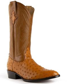 Ferrini Men's Colt Western Boots - Round Toe, Cognac, hi-res