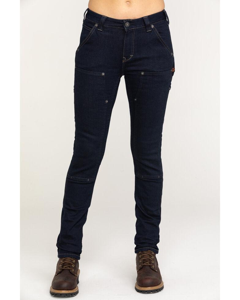 Dovetail Women's Maven Slim Denim Stretch Jeans , Indigo, hi-res