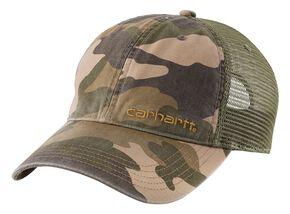 Carhartt Mesh Back Camo Cap, Camouflage, hi-res