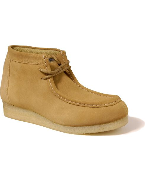 Roper Tan Suede Chukka Gum Casual Shoes, Tan, hi-res