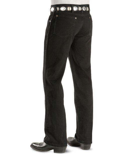 "Wrangler Jeans - Cowboy Cut 36 MWZ Slim Fit Black - 38"" Tall Inseams, Black, hi-res"
