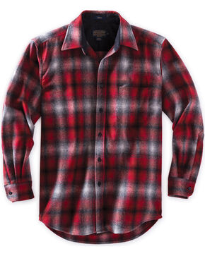 Pendleton Men's Red Ombre Lodge Shirt , Red, hi-res