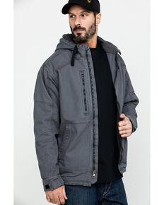 Ariat Men's FR Duralight Stretch Canvas Work Jacket , Grey, hi-res