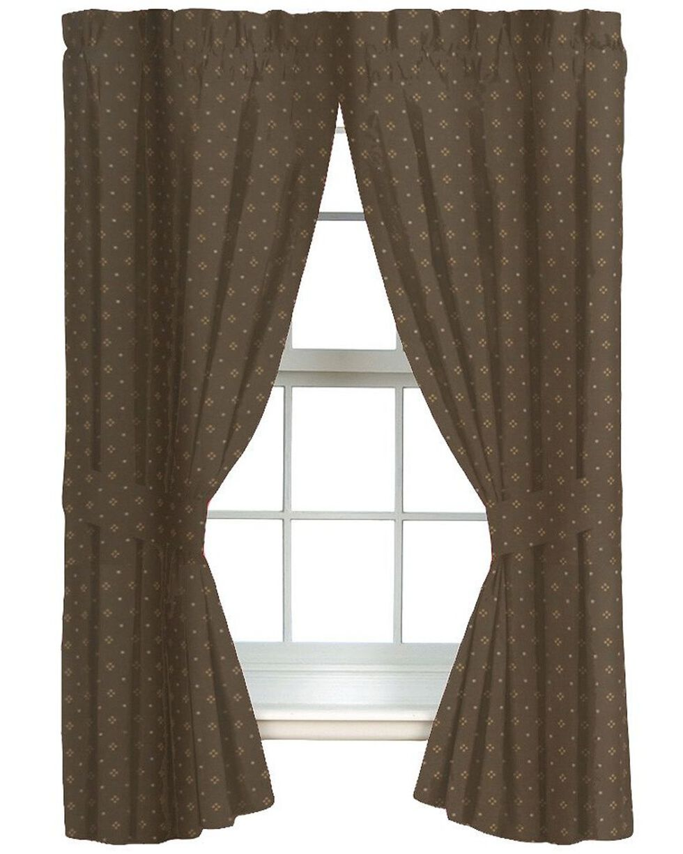 Blue Ridge Trading Whitetail Dreams Drapes, Brown, hi-res