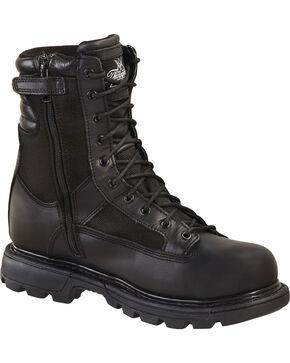 """Thorogood Men's 8"""" Gen Flex 2 Tactical Trooper Boots - Soft Toe, Black, hi-res"""