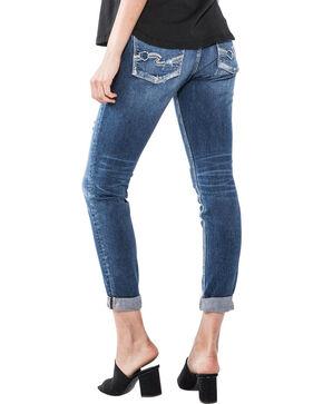 Silver Women's Indigo Sam Boyfriend Jeans - Straight Leg , Indigo, hi-res