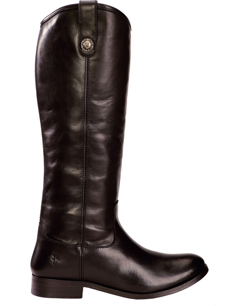 Frye Women's Melissa Button Riding Boots - Wide Calf, Black, hi-res