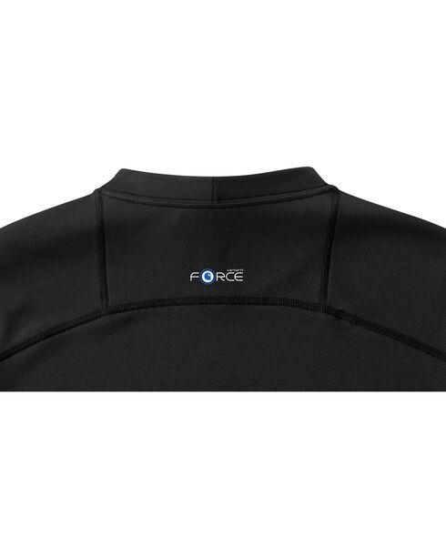 Carhartt Men's Base Force Extremes Lightweight Short-Sleeve T-Shirt - Tall , Black, hi-res