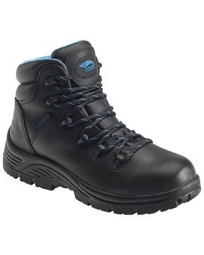 Nautilus Women's Waterproof Hiker Boots - Round Toe, Black, hi-res