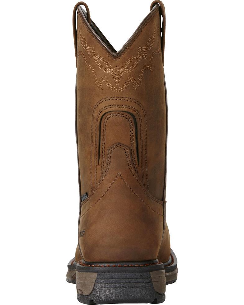 b35741247ed Ariat Men's Brown Workhog Waterproof Work Boots - Composite Toe