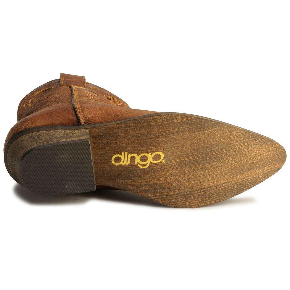 Dingo Moon & Cactus Zipper Booties, Tan, hi-res