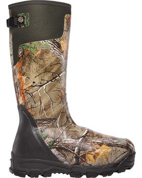 LaCrosse Men's Alphaburly Pro 1600G Realtree Xtra Hunting Boots, Brown, hi-res