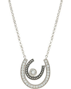 Montana Silversmiths Women's Vintage Charm Cherished Treasure Necklace, Silver, hi-res