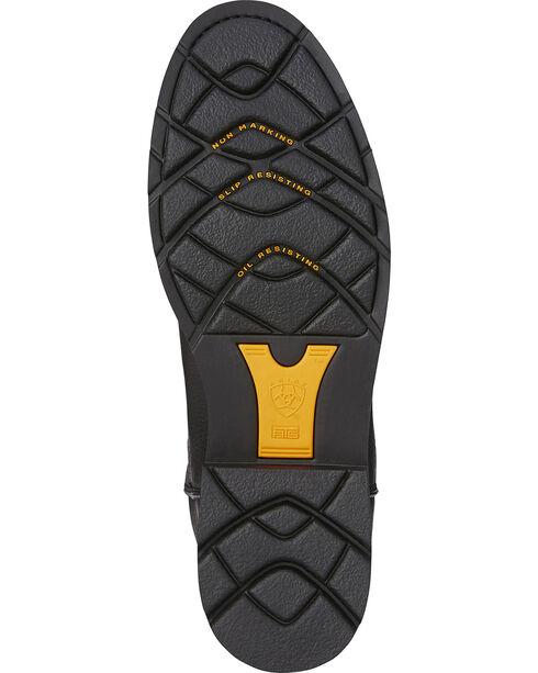 Ariat Sierra Western Work Boots, Black, hi-res