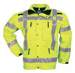 5.11 Tactical Men's High-Visibility Parka, Yellow, hi-res