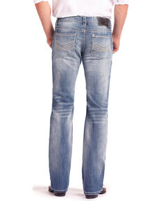 Rock & Roll Cowboy Men's Reflex Pistol Light Vintage Straight Jeans , Light Blue, hi-res