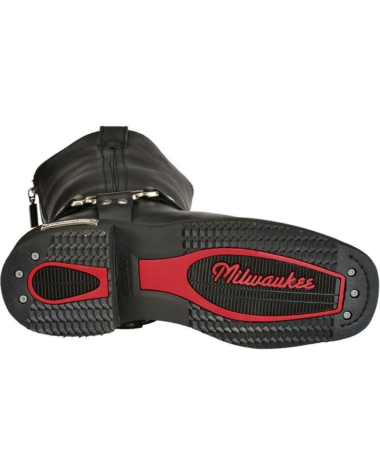 Milwaukee Motorcycle Clothing Men's Harness Motorcycle Boots, , hi-res
