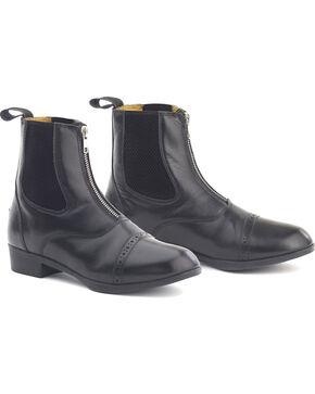 Ovation Women's Sport Rider II Paddock Boots, Black, hi-res