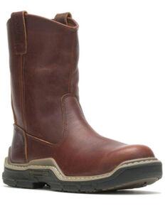 Wolverine Men's Raider Durashock Western Work Boots - Soft Toe, Brown, hi-res