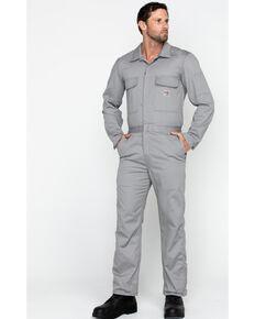 Carhartt Flame Resistant Classic Twill Coveralls, Grey, hi-res