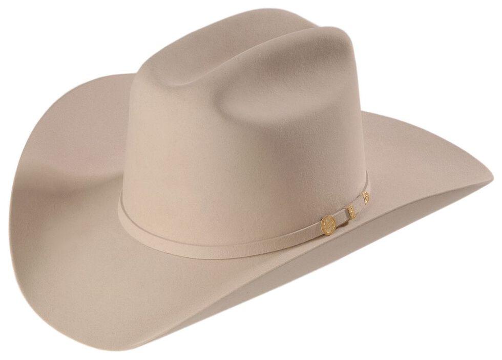 bd5d3ca2 Zoomed Image Stetson 100X El Presidente Fur Felt Western Hat, Silverbelly,  hi-res
