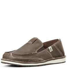Ariat Men's Eco Cruiser Shoes - Moc Toe, Brown, hi-res