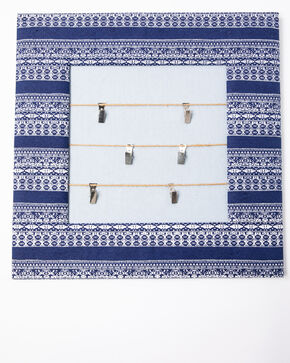 BB Ranch Indigo Picture Clip Wall Decor, Blue, hi-res