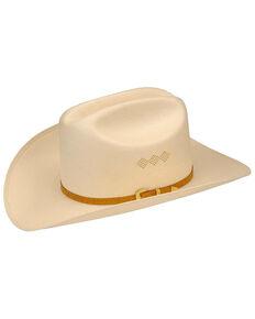 Larry Mahan Mens 15X El Primero Straw Cowboy Hat 8f837d5d5e20
