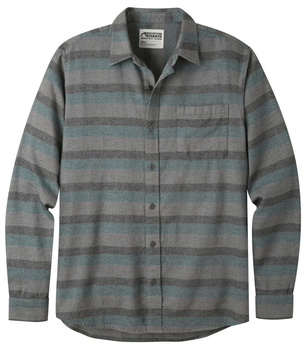 Mountain Khakis Men's Deep Jade Fall Line Flannel Shirt , Green, hi-res