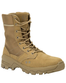 5.11 Tactical Men's Coyote Speed 3.0  RapidDry Boots- Round Toe, Dark Coyote, hi-res