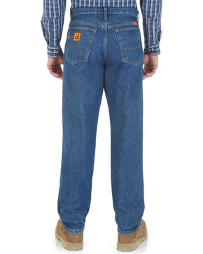 Wrangler Riggs Workwear Men's FR Relaxed Fit Jeans, Indigo, hi-res