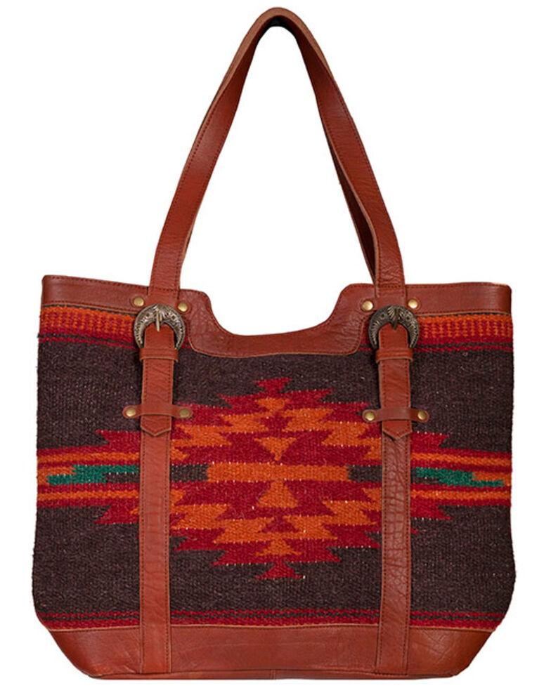 Scully Women's Aztec Woven Handbag, Multi, hi-res