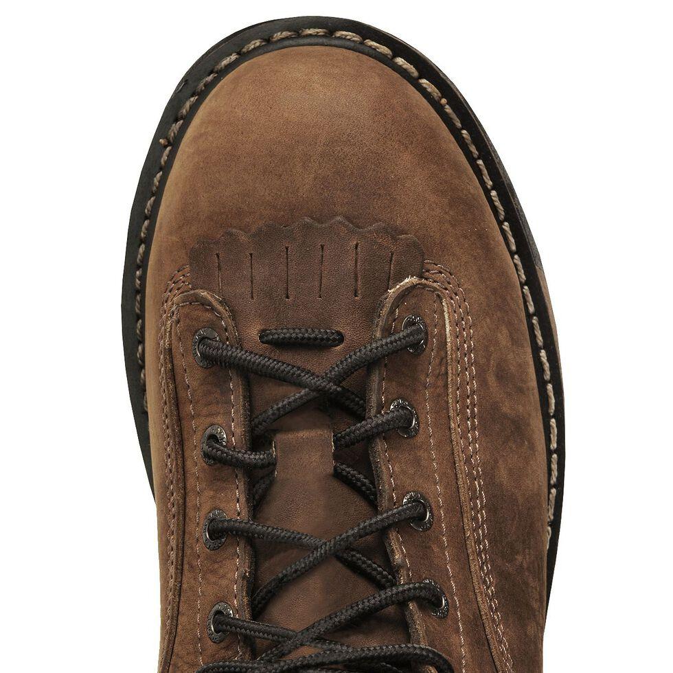 """Rocky 9"""" IronClad Waterproof Work Boots - Steel Toe, Copper, hi-res"""