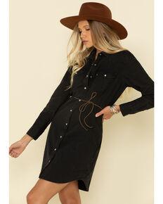 Levi's Women's Ultimate Western Dress, Black, hi-res