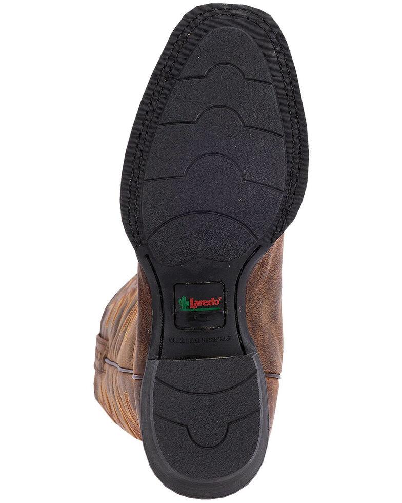 Laredo Goatskin Leather Cowboy Boots - Square Toe, , hi-res